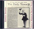 Ernest Shand - Daily Mirror Front Page